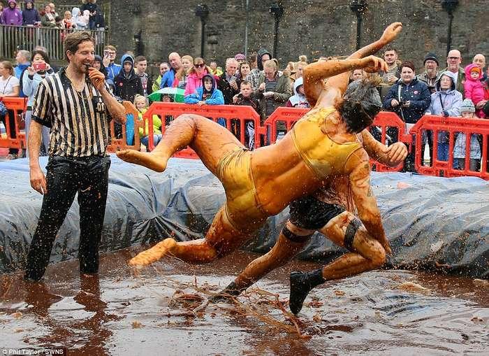 Чемпионат мира по борьбе в соусе