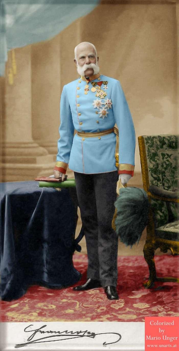 Фотографии известных людей 19 и начала 20 века в цвете