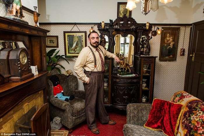 Британец полностью трансформировал свой дом в стиле 1930-х годов