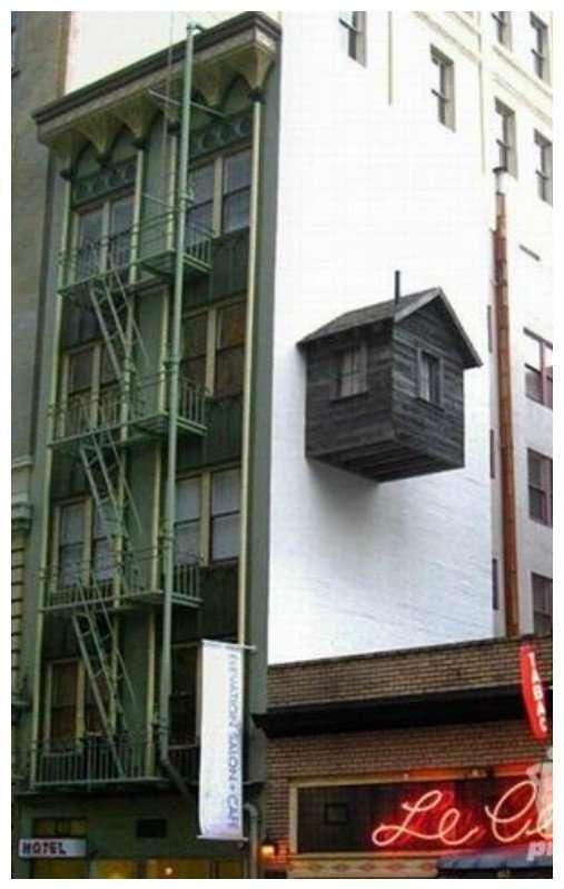 Моменты, когда крутость жилья просто зашкаливает