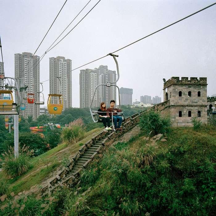 Особенности чунцинской урбанизации в фотопроекте Тима Франко -Metamorpolis-