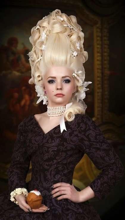 Невероятно изящные фотосессии в стиле Марии-Антуанетты