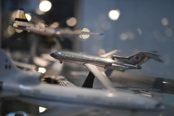 Самая большая в мире коллекция моделей самолетов