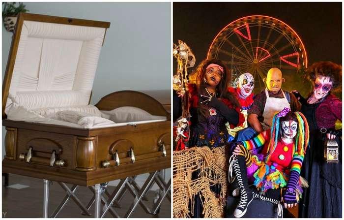 Парк развлечений Six Flags заплатит 300 долларов тому, кто пролежит 30 часов в гробу
