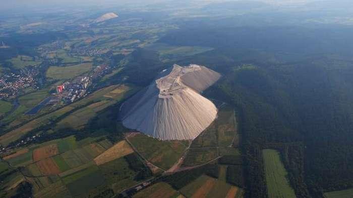 Самая большая в мире гора поваренной соли