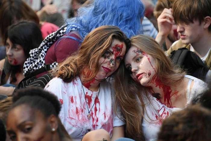 Нашествие зомби во Франции