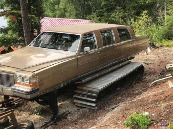Очень странный лимузин