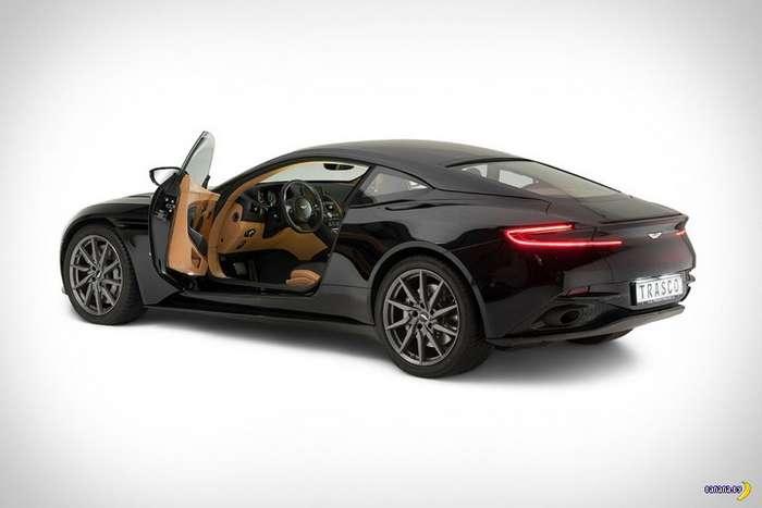 Бронированный Aston Martin DB11