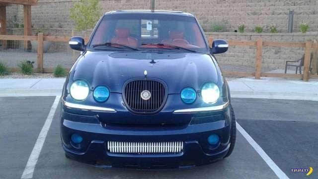 Зачем-то сделали пикап из Jaguar