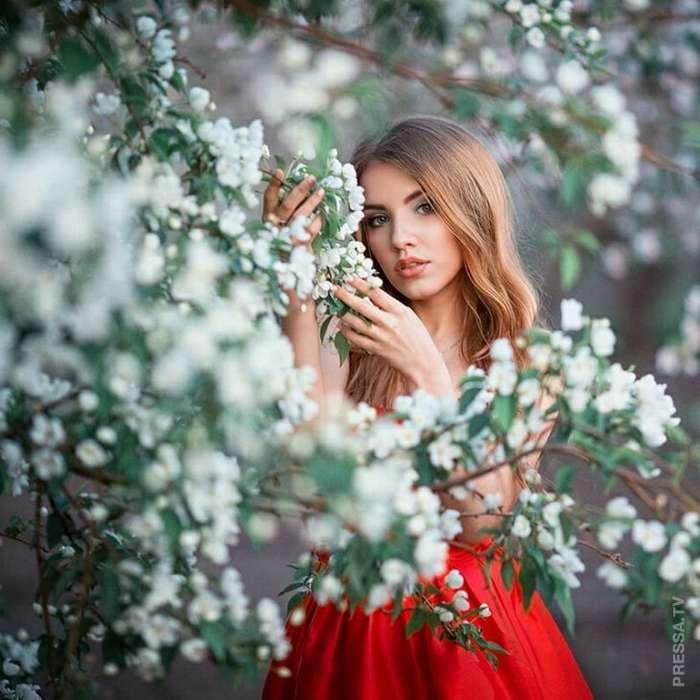 Красивые русские девушки в фотографиях Сергея Шацкова
