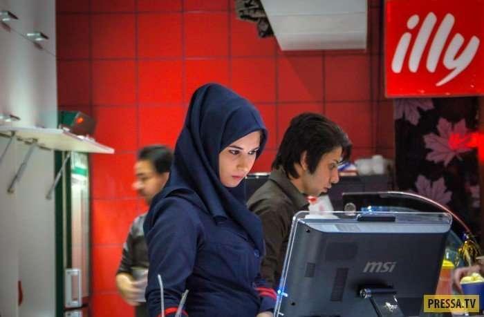 Как живётся женщинам в Иране -22 фото-