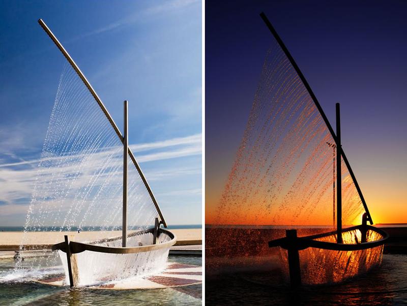 Крутые фонтаны со всего мира и три тотальных фейла-10 фото + 8 гиф-