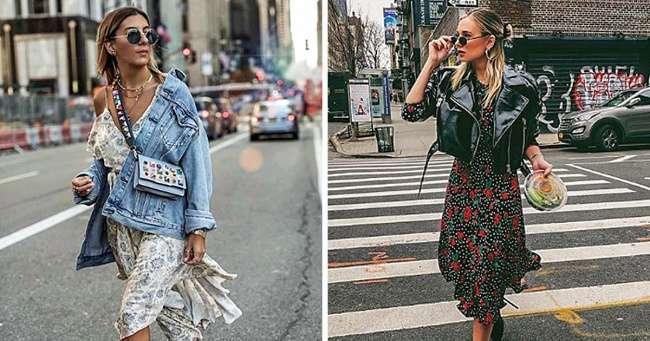 Как правильно носить летние вещи осенью (Модное пособие для тех, кто уже скучает потеплым дням)