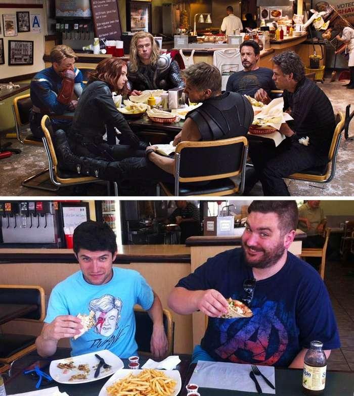 Сколько стоит обед вкафе изнаших любимых фильмов исериалов