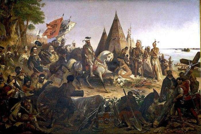 Как туземцы забыли свой язык и религию, а испанцы баснословно обогатились: Правдивые факты о конкистадорах