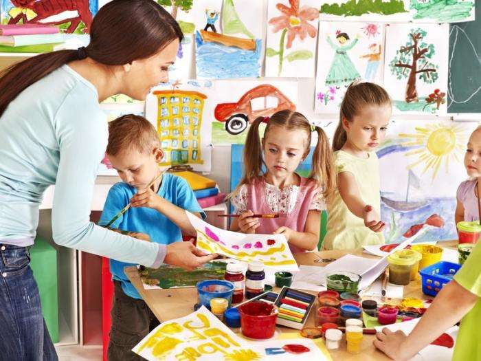 Как устроен детский сад в Италии -9 фото-