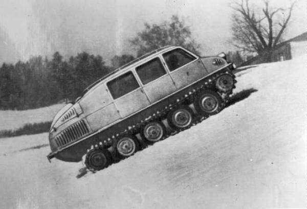 Эволюция советского вездехода -8 фото-