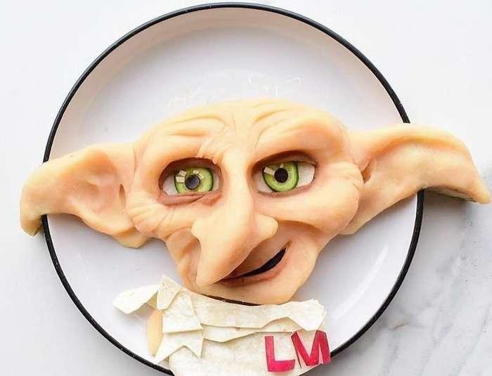 Мама превращает блюда в персонажей мультфильмов, чтобы приучить сына к здоровому питанию-80 фото + 1 видео-
