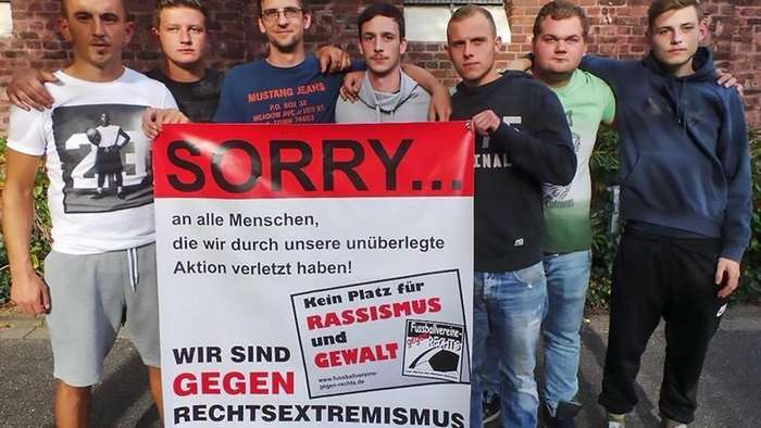Немецкий клуб выгнал семь игроков за -зигу- на фото-2 фото-