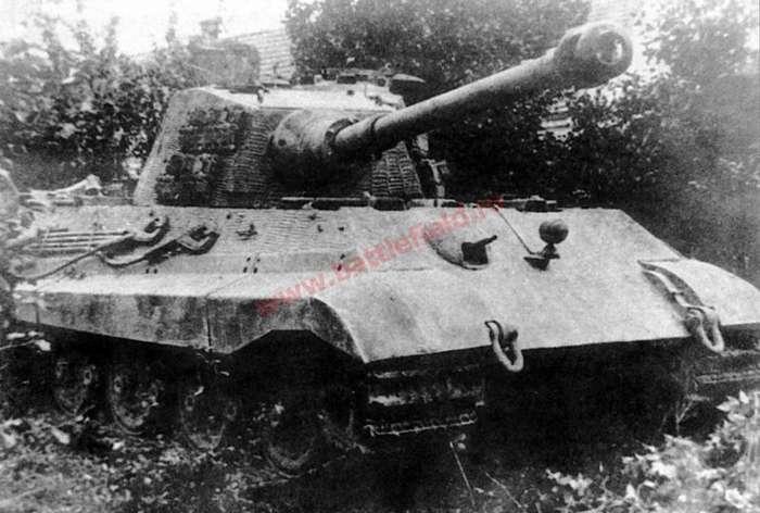 Первый поединок ИС-2 и -Королевского тигра--7 фото-