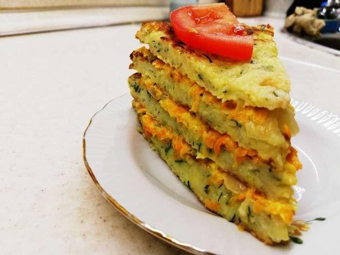 Кабачковый торт. Вкусный рецепт из кабачков-13 фото-