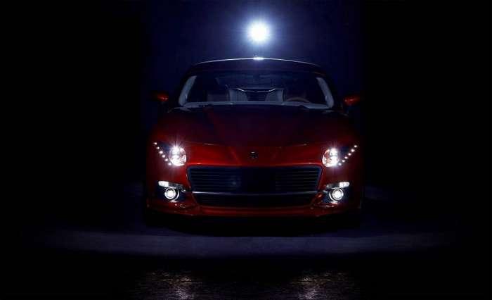 В Польше сделали современную -Победу- из нового Ford Mustang-9 фото-