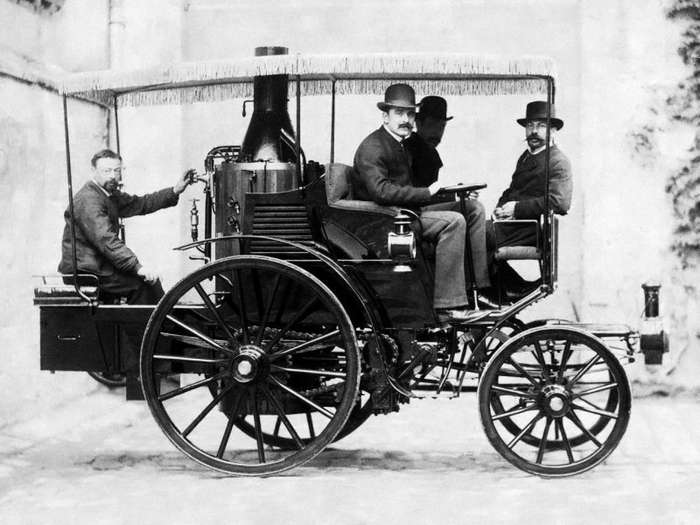 Один из самых старых автомобилей: De Dion-Bouton Trepardoux 1884 года-19 фото + 1 видео-