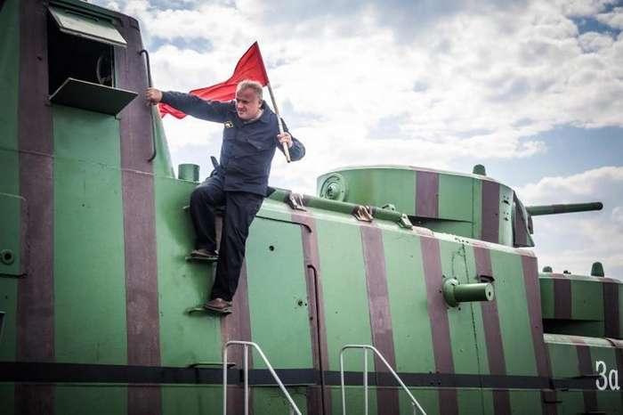 Дитя танка Т-28 и дрезины-24 фото-