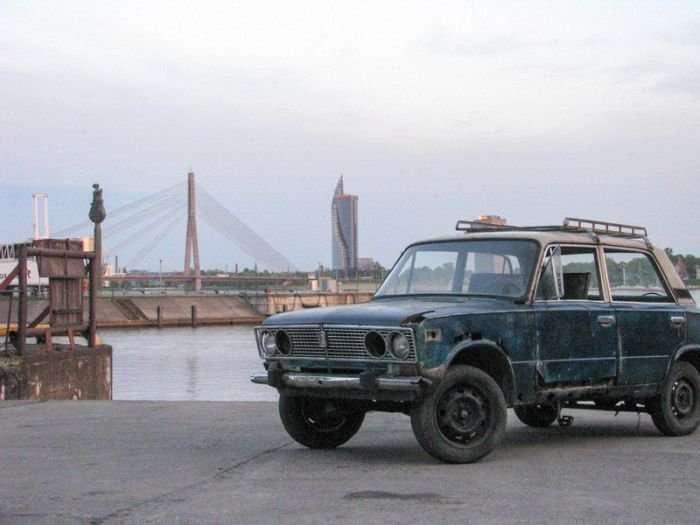 Необычный ВАЗ-7 фото-