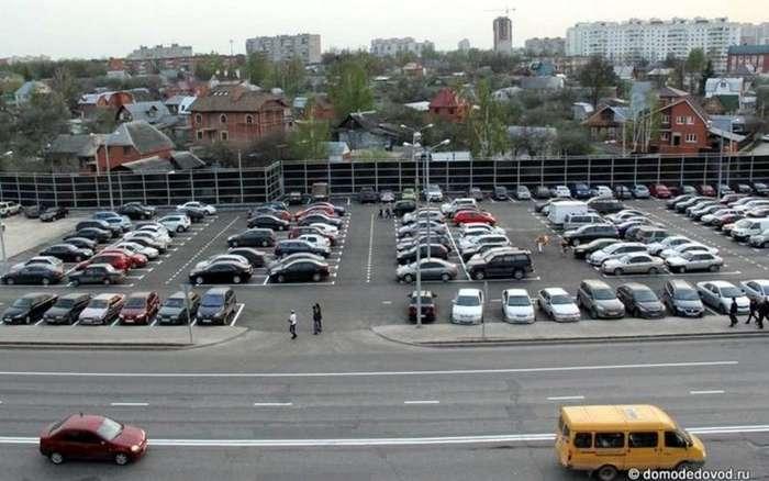 Развод на парковке-1 фото-
