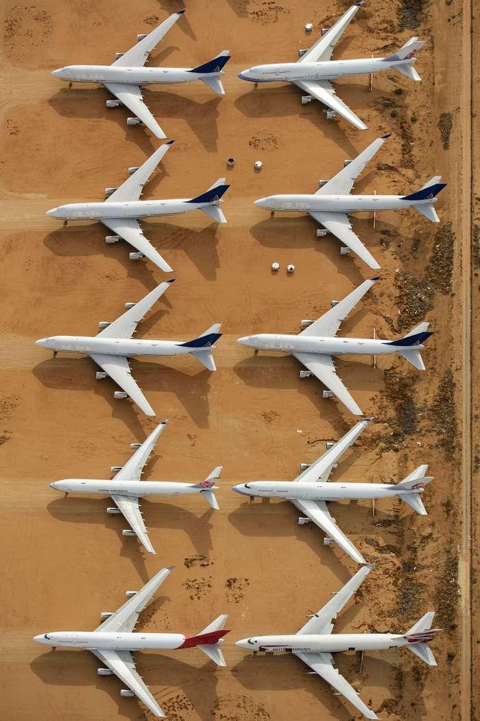 Калифорнийское кладбище самолетов