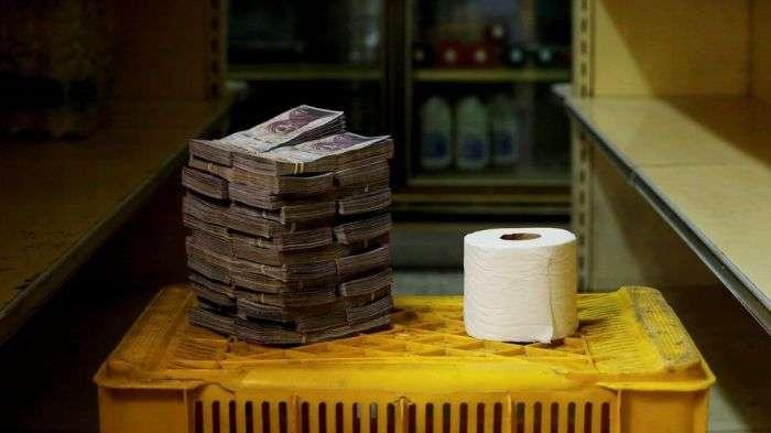 Когда купюры дешевле бумаги, из которой сделаны