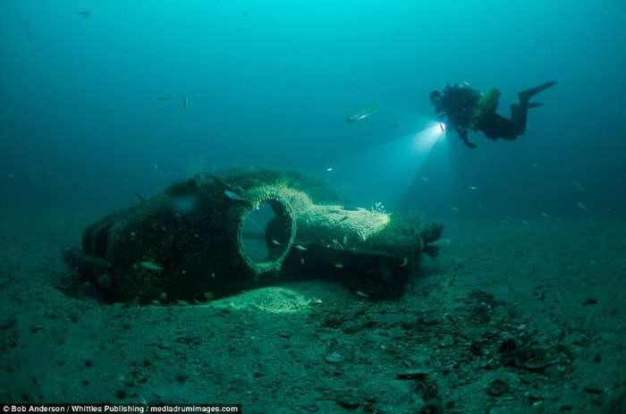 Затонувшие корабли в фотографиях
