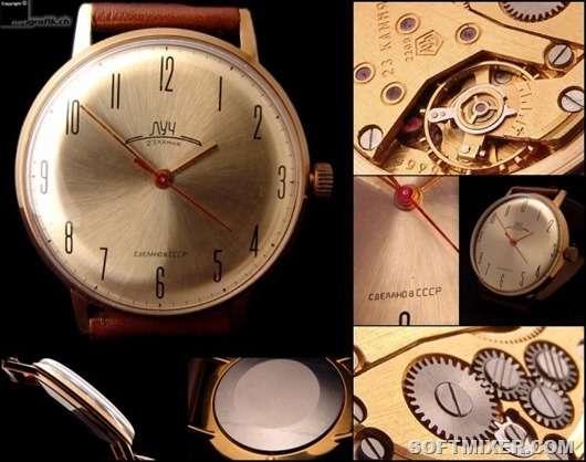 Самые крутые часы в СССР