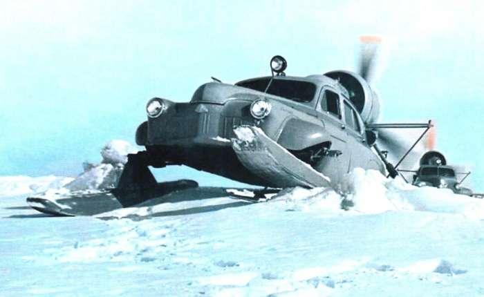 Советские аэросани -Ка-30-: машины, которые могли пройти по любому бездорожью и в крайне суровых условиях