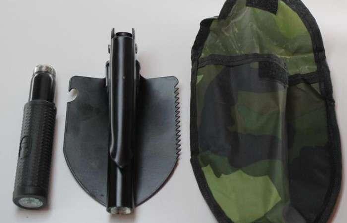 Функциональная лопата для выживания, которая объединила в себе 12 устройств