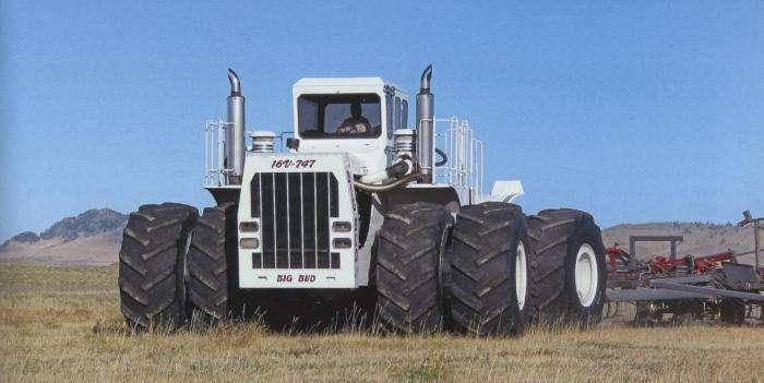 6 сельскохозяйственных тракторов, которые не знают себе равных по мощности