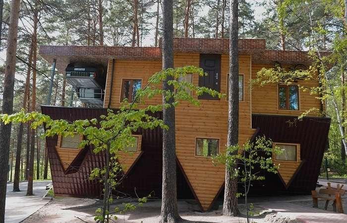 10 перевернутых домов, которые запутают любого, кто войдет внутрь