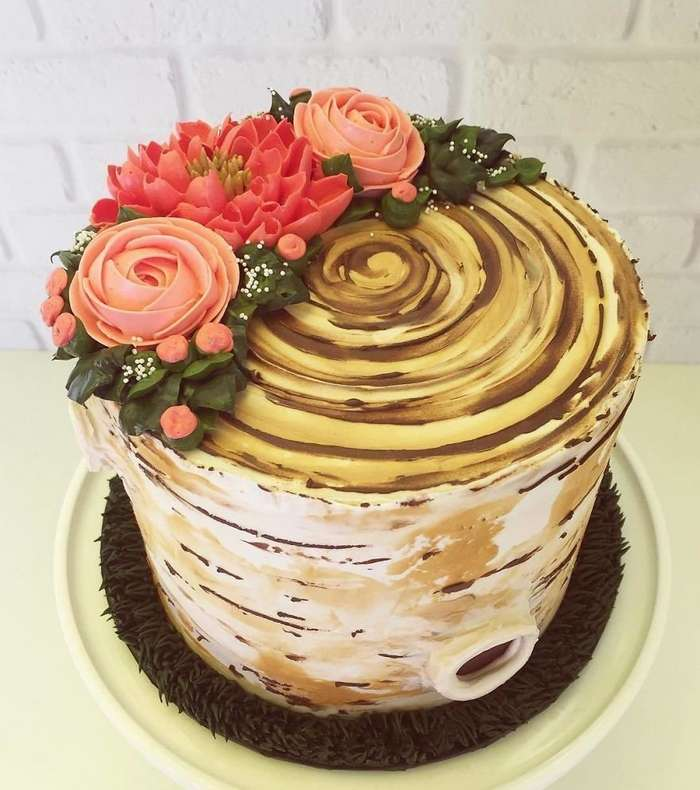 Эти торты уместнее на клумбе, чем на столе!