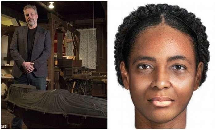 Ученые из США установили личность женщины, найденной в железном гробу в 2011