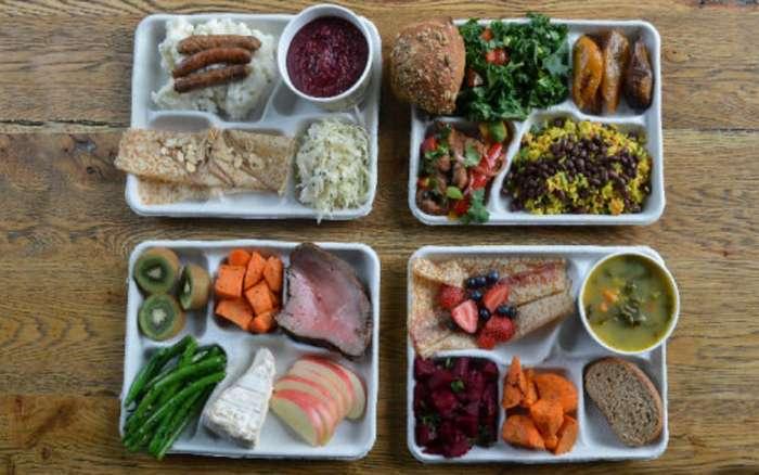 Что едят школьники по всему миру? 9 примеров школьных обедов разных стран