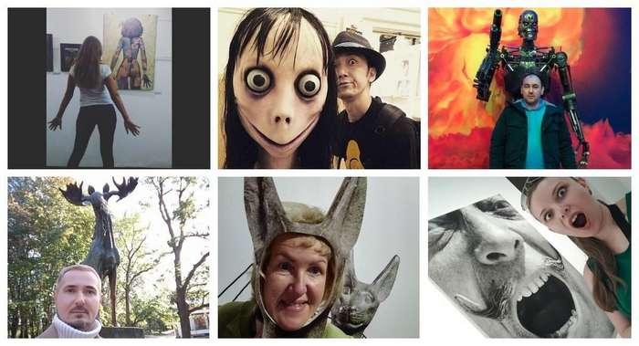 20 фото из серии -подражая искусству, или каждый из нас делал это хоть раз в жизни-
