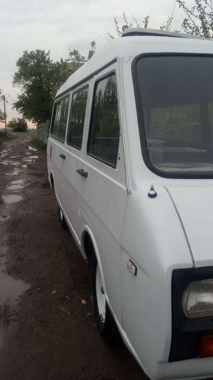 Восстановление советского микроавтобуса -РАФ-2203-