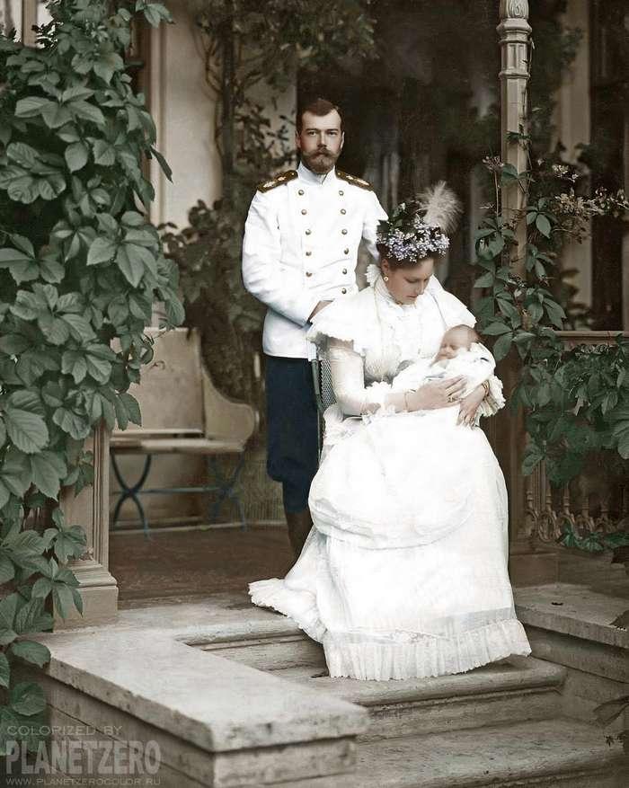 Николай II, Распутин, Ленин и большевики: исторические снимки в цвете