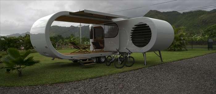 Футуристический дом на колёсах за $350 000