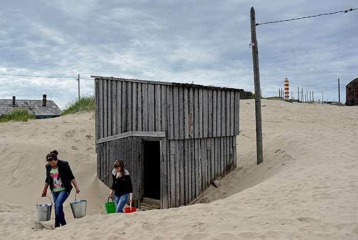 Русское Макондо: Поселение на Белом море погружается в пески
