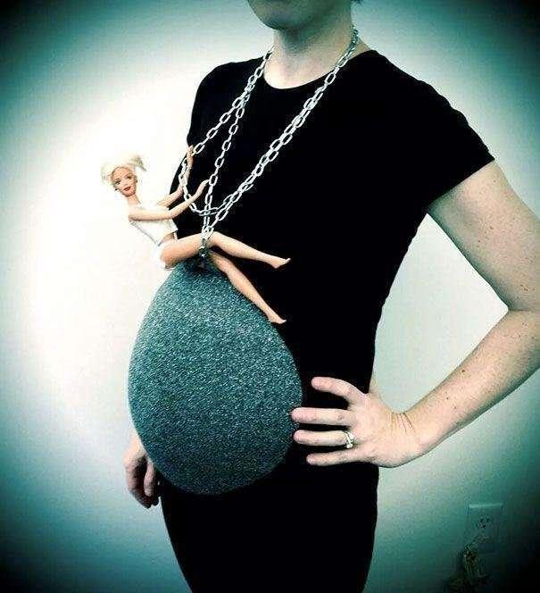 Первый Хэллоуин малыша: 17 оригинальных костюмов для беременных