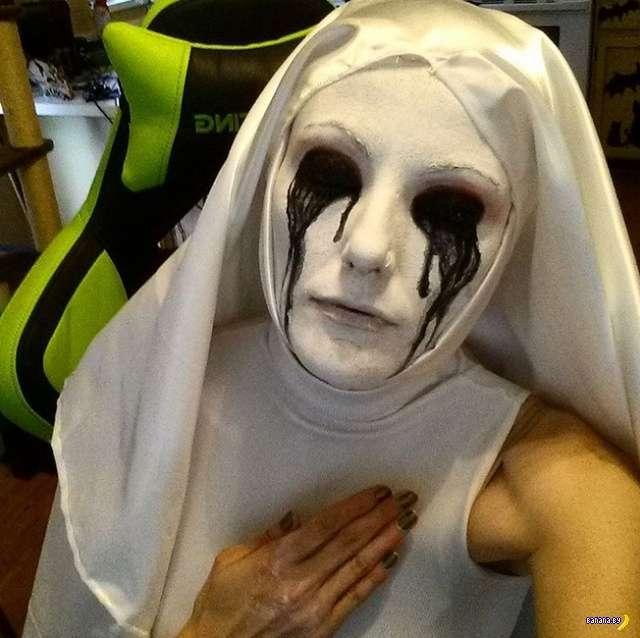 Жуткие образы на Хеллоуин