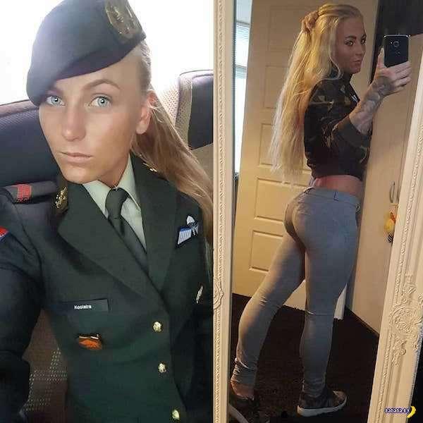 Сексуальность униформой не прикроешь!