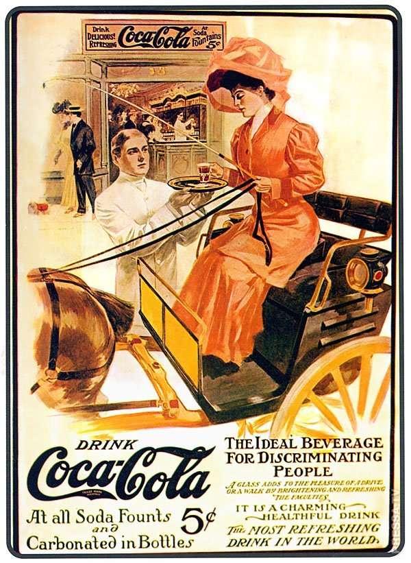 История Coca-Cola в рекламе